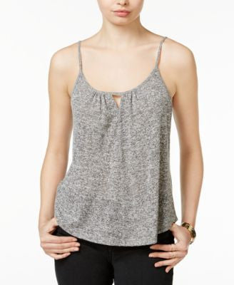 Bar III Keyhole Knit Tank Top, Only at Vogily