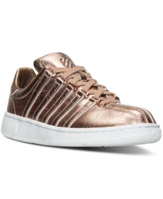 K-Swiss Women's Classic VN Aged Foil Casual Sneakers from Finish Line