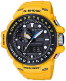 G-Shock Men's Analog-Digital Gulfmaster Yellow Resin Strap Watch 45x56mm GWN1000H-9A