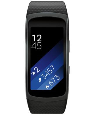 Samsung Gear Fit2 Black Strap Smart Fitness Band 25x51mm