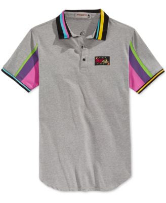 Black Pyramid Men's Surf Pyramid Polo