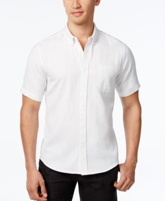 Ezekiel Men's Short-Sleeve White Shirt