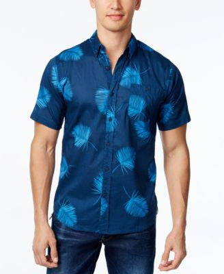 Ezekiel Men's Short-Sleeve Graphic-Print Shirt