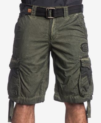 Affliction Men's Rusted Template Cargo Shorts