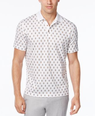 Tasso Elba Men's Big and Tall Print Polo