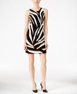 Charter Club Animal-Print Shift Dress, Only at Vogily