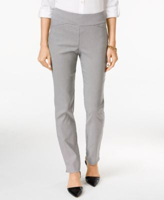 Charter Club Cambridge Houndstooth Straight-Leg Pants, Only at Vogily