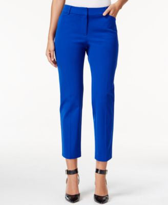 Charter Club Bistretch Slim Crop Pants, Only at Vogily