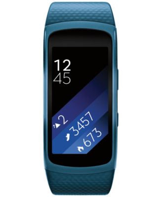 Samsung Gear Fit2 Blue Strap Smart Fitness Band 25x51mm