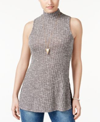 American Rag Sleeveless Mock-Neck Top, Only at Vogily