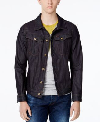 GStar Men's 3301 Slim-Fit Denim Jacket