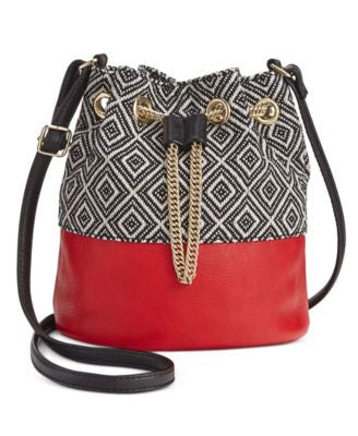 INC International Concepts Dolli Bucket Crossbody, Only at Vogily