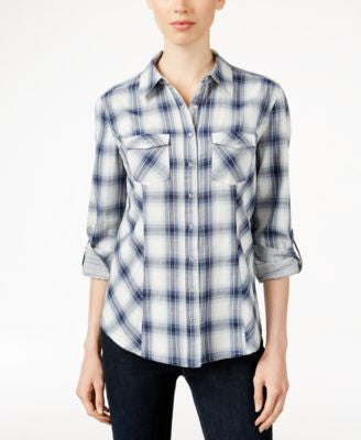 Style & Co. Plaid Shirt, Only at Vogily
