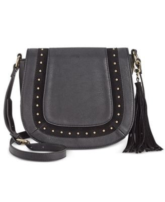 INC International Concepts Kierra Saddle Bag, Only at Vogily