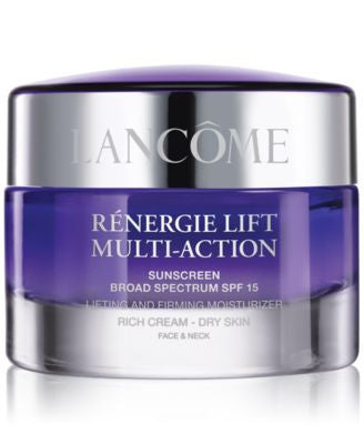 Lancôme Rénergie Lift Multi-Action Lifting & Firming Cream for Dry Skin- Broad Spectrum SPF 15, 1.7