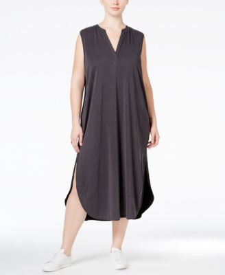 RACHEL Rachel Roy Curvy Trendy Plus Size Sleeveless Midi Dress