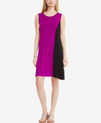 Vince Camuto Sleeveless Colorblocked Shift Dress