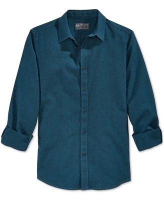 American Rag Men's Solid Long-Sleeve Shirt, Only at Vogily