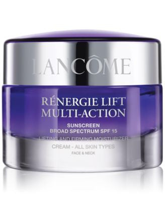 RÉNERGIE LIFT MULTI-ACTION Sunscreen Broad Spectrum SPF 15 Lifting and Firming Cream All Skin Types,