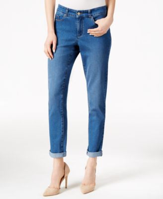 Charter Club Lyon Wash Boyfriend Jeans, Only at Vogily