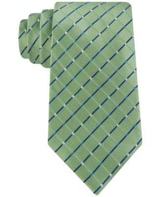 Geoffrey Beene Men's City Grid Classic Tie