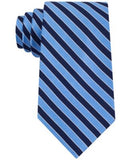Club Room Men's Classic Diagonally-Striped Tie, Only at Vogily