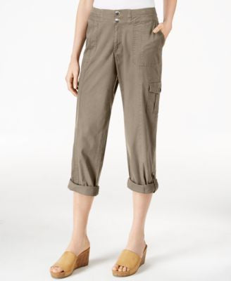 Style & Co. Cargo Convertible Pants, Only at Vogily