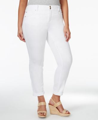 INC International Concepts Plus Size Boyfriend Jeans