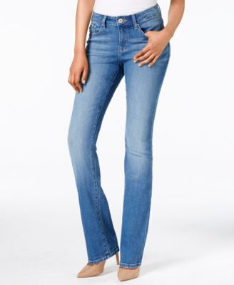 Lee Platinum Avery Curvy Soar Wash Bootcut Jeans