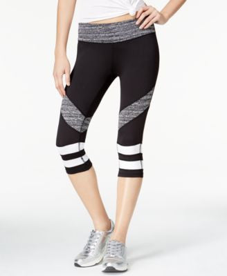 Material Girl Active Juniors' Cropped Leggings, Only at Vogily