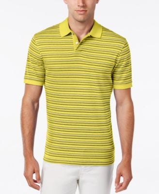 Club Room Big and Tall Men's Stripe Polo, Classic Fit