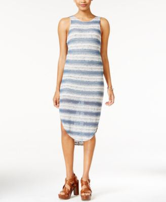 Bar III Striped Knit Dress, Only at Vogily