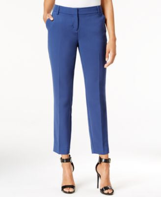 Bar III Cropped Slim Trousers, Only at Vogily