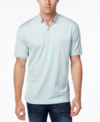Cutter & Buck Men's Big and Tall Mercerized Midvale Striped Polo