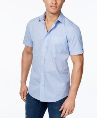 Tommy Hilfiger Men's Abia Print Short-Sleeve Shirt