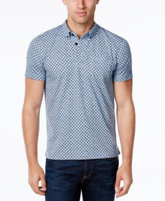 Tommy Hilfiger Men's Isaac Sun-Print Polo