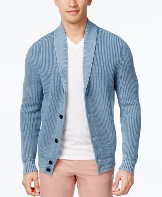 Tommy Hilfiger Men's Samuel Knit Shawl-Collar Cardigan