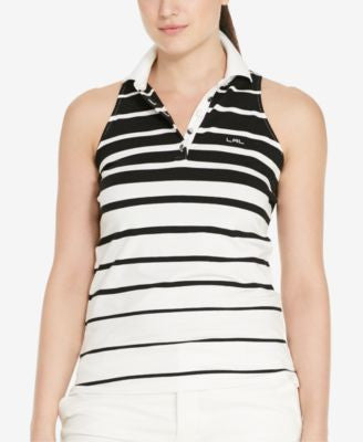 Lauren Ralph Lauren Plus Size Sleeveless Polo Shirt