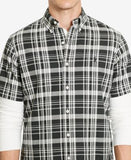Polo Ralph Lauren Men's Short-Sleeve Buffalo Check Oxford Shirt