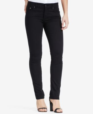 Lauren Ralph Lauren Stretch Premier Straight-Leg Jeans, Black Wash
