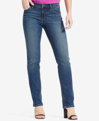 Lauren Ralph Lauren Super-Stretch Classic Straight Jeans, Harbor Wash