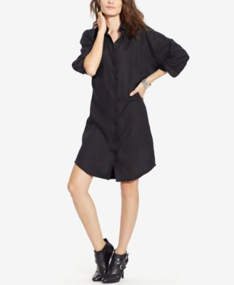 Lauren Ralph Lauren Dolman-Sleeve Shirtdress