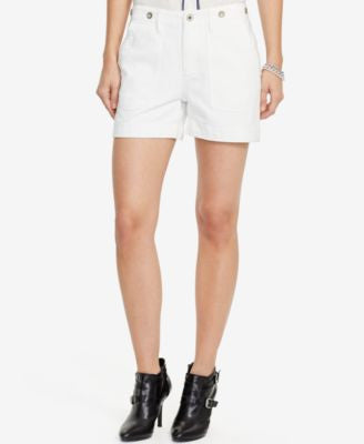 Lauren Ralph Lauren Denim Patch Pocket Shorts