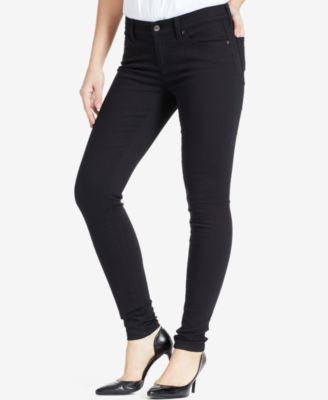 Lauren Ralph Lauren Stretch Modern Skinny Jeans, Black Wash