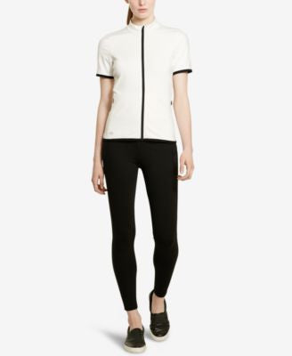 Lauren Ralph Lauren Short-Sleeve Jersey Jacket