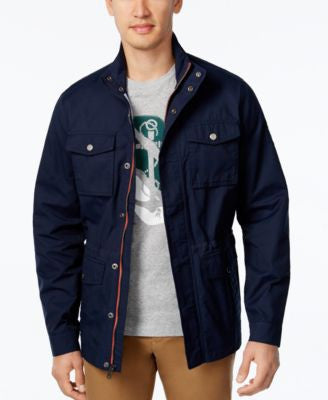 Tommy Hilfiger Men's Four-Pocket Utility Jacket