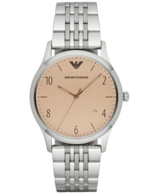 Emporio Armani Men's Beta Stainless Steel Bracelet Watch 41mm AR1881