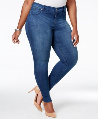Body Sculpt by Celebrity Pink Trendy Plus Size Skinny Jeans