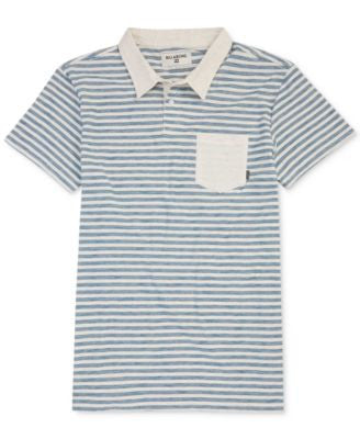 Billabong Mens' Stripe Pocket Polo