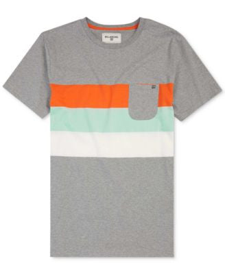 Billabong Men's Stripe Pocket T-Shirt